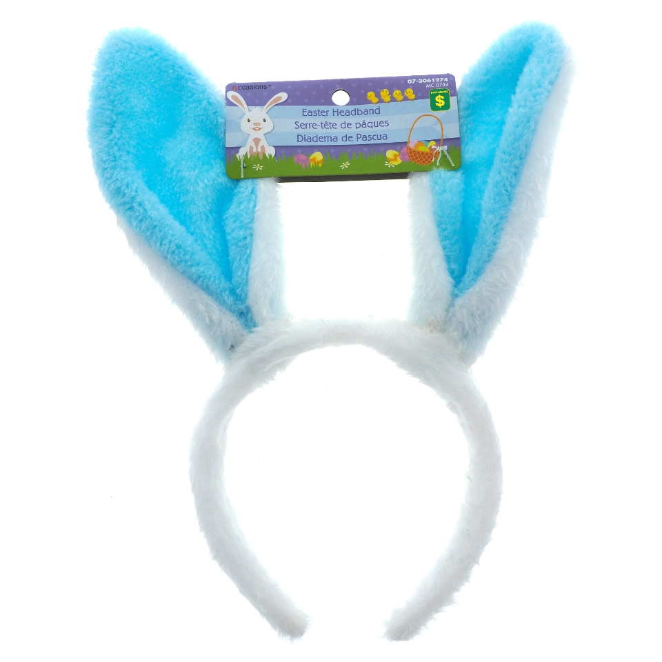 Plush Headband With Bunny Ears