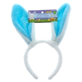 Plush Headband With Bunny Ears - 0