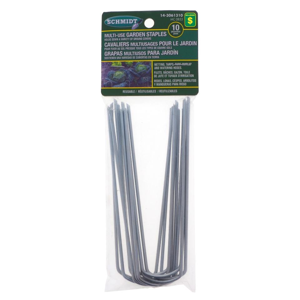 10PK Multi-Use Garden Staples
