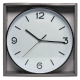 Wall Clock with Geometric Pattern - 0