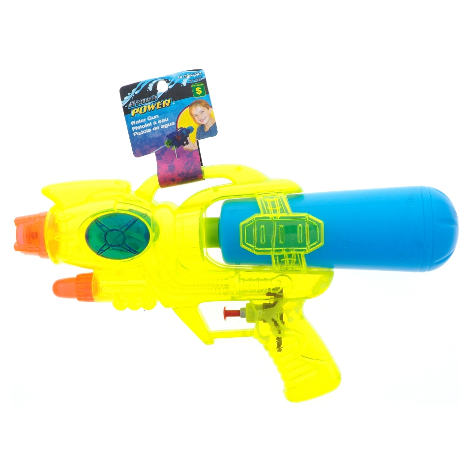 Colorful Clear Watergun With Opaque Reservoir