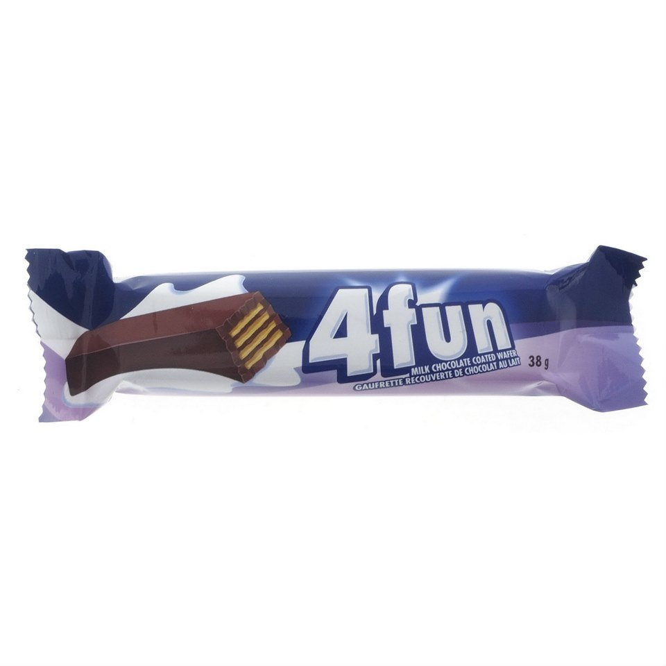 4fun Milk Chocolate Coated Wafer