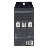 Stereo Earbuds with Microphone and Flat Cable (Assorted colours) - 1