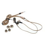 Stereo Earbuds with Microphone and Flat Cable (Assorted colours) - 2