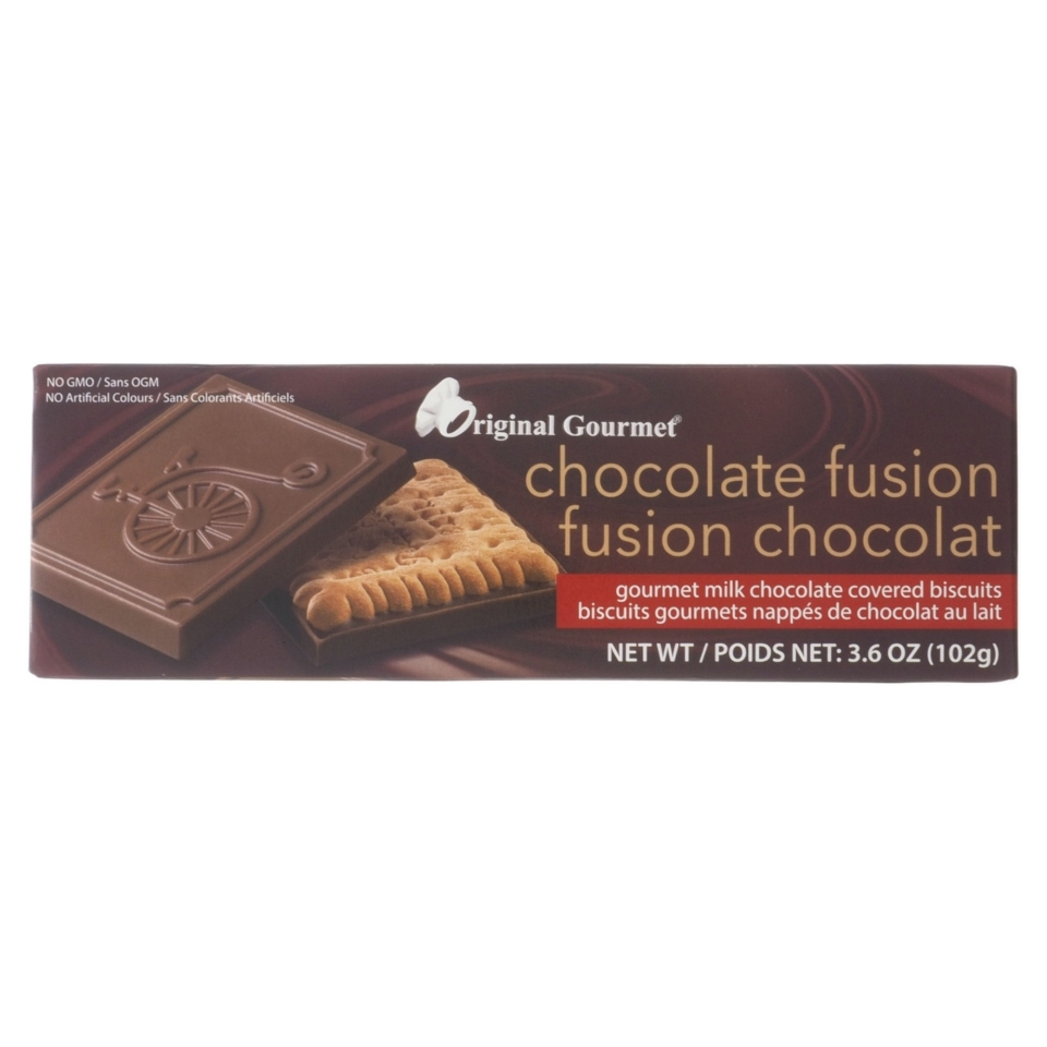 Biscuits fusion chocolat