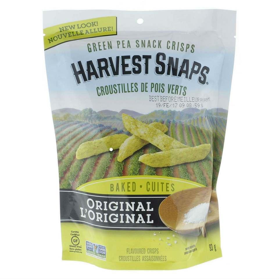 Green Pea Snack Crisps