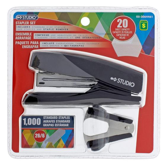 Stapler Set (Assorted Colours)