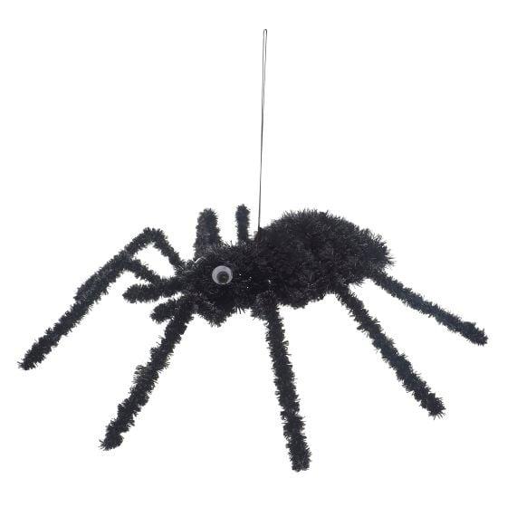 Tinsel Wired Halloween Spider