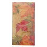 Paquet de 14 petites serviettes de table à motifs d'automne - 0