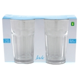 2PK Clear Glass Tumblers - 0