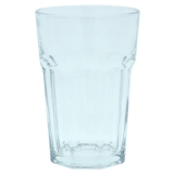 2PK Clear Glass Tumblers - 1