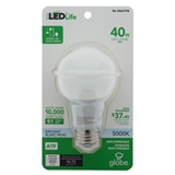 Ampoules DEL A19 40w 5000k - Blanc - 0