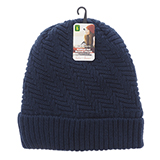 Ladies knitted hat with sherpa lining - 2