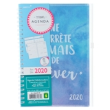 Agenda français hebdomadaire et mensuel avec onglets - 0