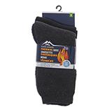 Paquet de 2 paires de chaussettes thermiques pour homme - 0