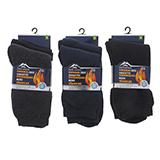Paquet de 2 paires de chaussettes thermiques pour homme - 1
