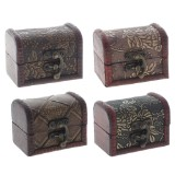 Small Wooden Jewelery Box (Assorted Styles) - 1
