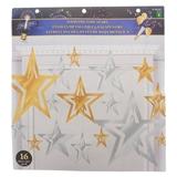Paquet  de 16 étoiles scintillantes - 0