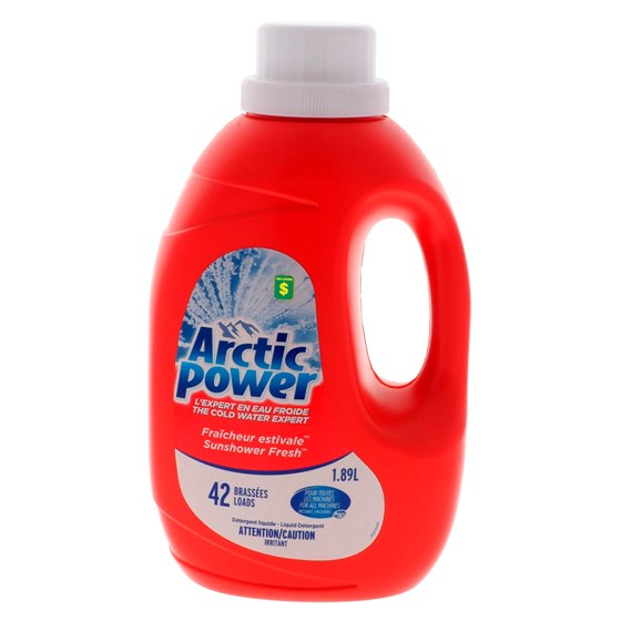 Liquid Laundry Detergent, Sunshower Fresh scent