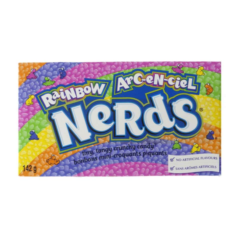Nerds arc-en-ciel