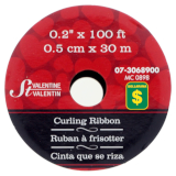 Heart Printed Curling Ribbon - 2