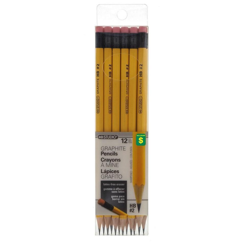 HB #2 Graphite Pencils 12PK
