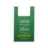 Large Bilingual Dollarama Eco Bag - 0