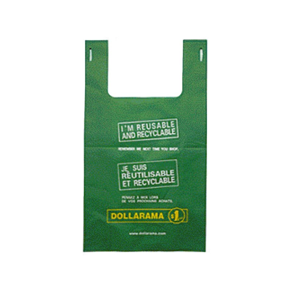 Small Bilingual Dollarama Eco Bag