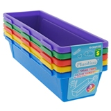 5PK Plastic Interlocking Pencil Trays - 0