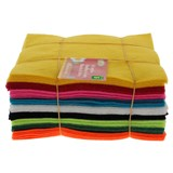 45PK Colourful Felt Swatches - 0
