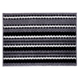 Rectangular Stripped Floor Mat - 0
