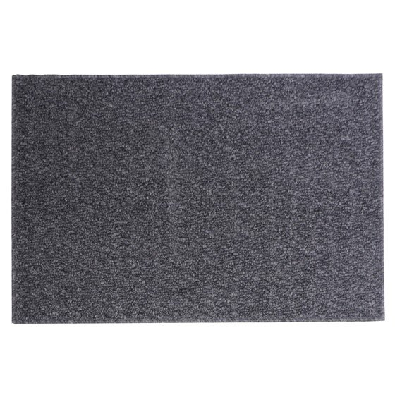 Tapis rectangulaire rayé en fibre synthétique (Couleurs assorties)