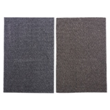 Tapis rectangulaire rayé en fibre synthétique (Couleurs assorties) - 1