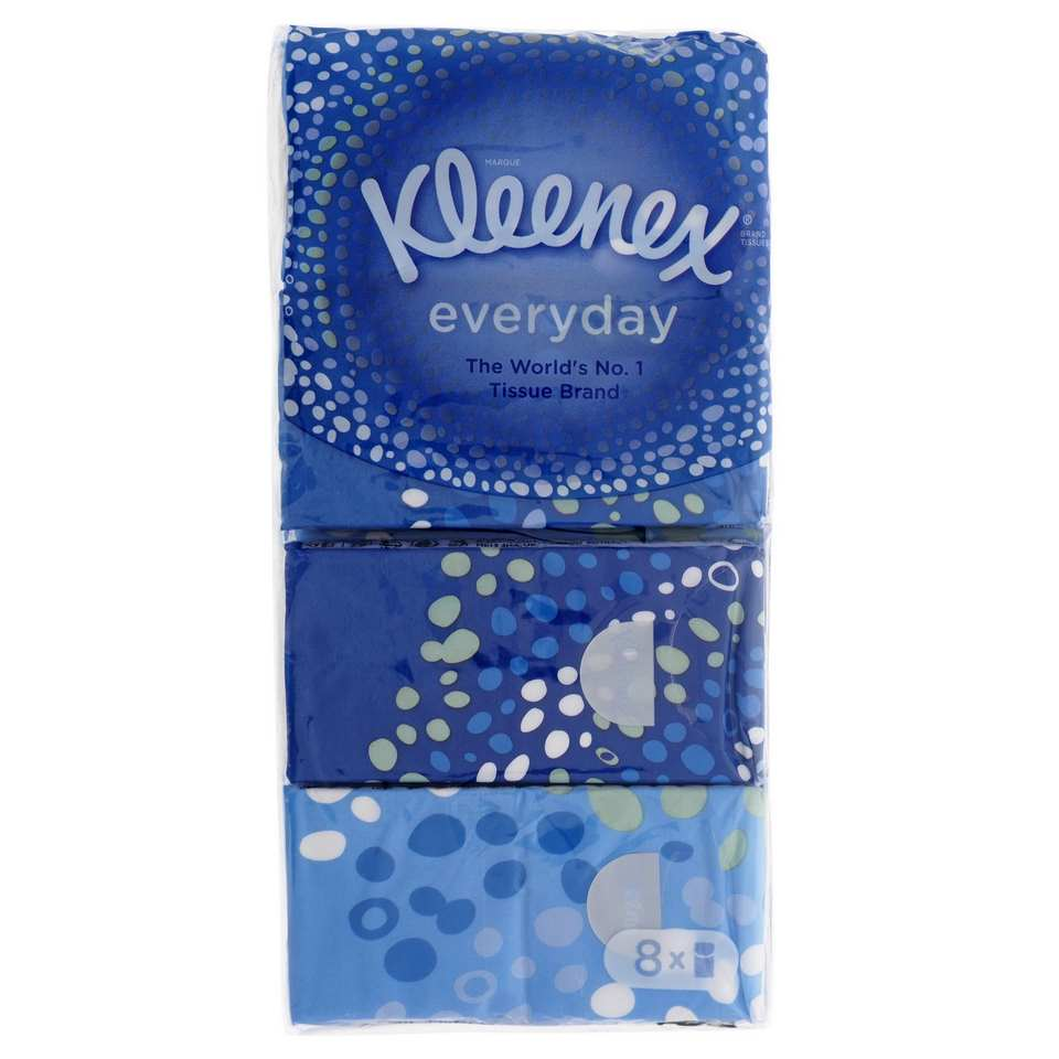8PK of 10 Tissues Pocket Size