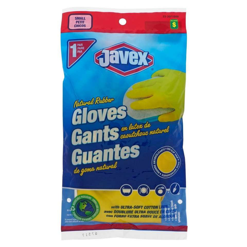 1 Paire de gants en latex multi-usage, Petit