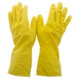 1 Paire de gants en latex multi-usage, Moyen - 2
