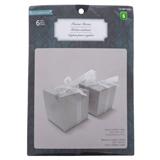 6PK Wedding Embedded Glitter Favour Box - 0