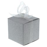 6PK Wedding Embedded Glitter Favour Box - 1