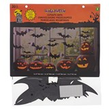 30PK Printed Bats & Spiders Cutouts - 0