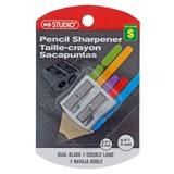 Metal 2 Hole Pencil Sharpener On Clip Strip - 0