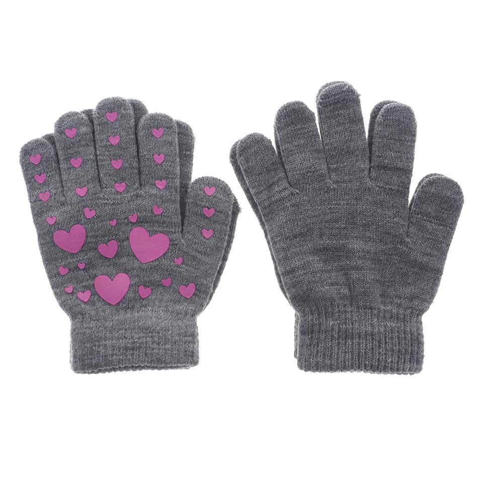 2Pk Knit Gloves - youth