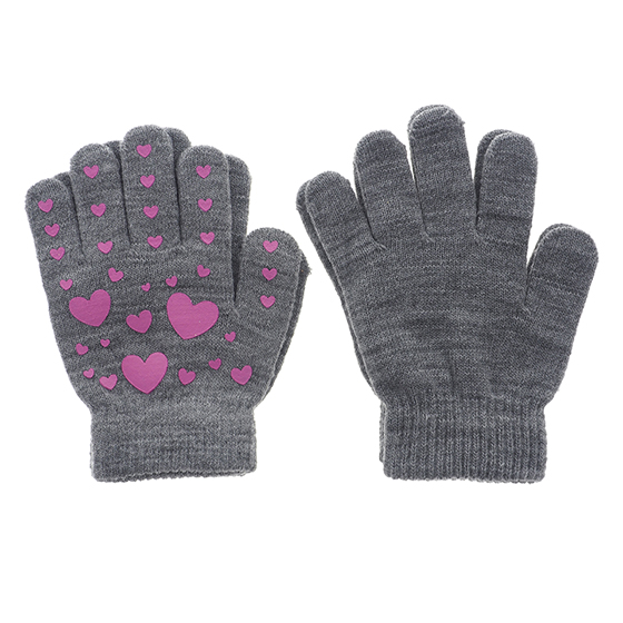 2Pk of Youth Knit Gloves