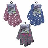 2Pk Knit Gloves - youth - 1