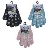 2Pk Knit Gloves - youth - 2