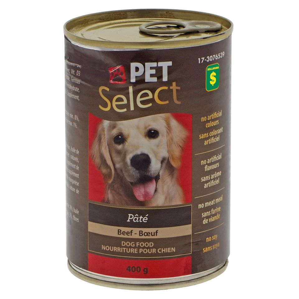 Dog Food Pate with Beef - 400g