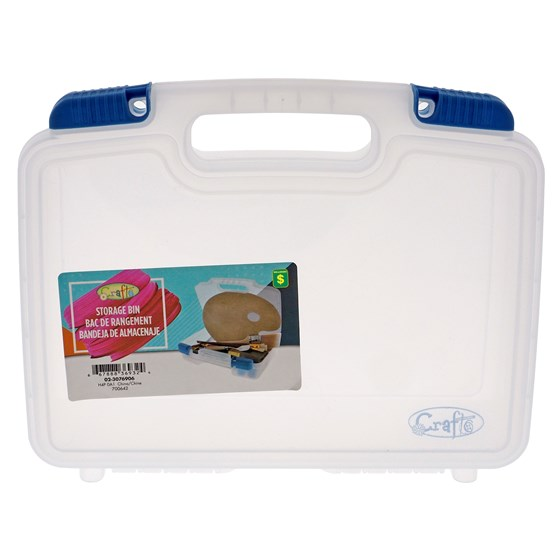 Clear Plastic craft storage