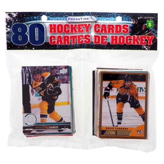80 Cartes échangeables de Hockey