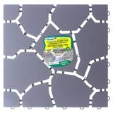 Plastic Square Rock Style Floor Tiles - 0