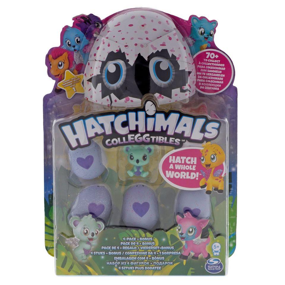 Paq. De 4 Hatchimals oeufs de collection