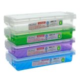 Rectangular Container with Clip-Lock Lid - 0
